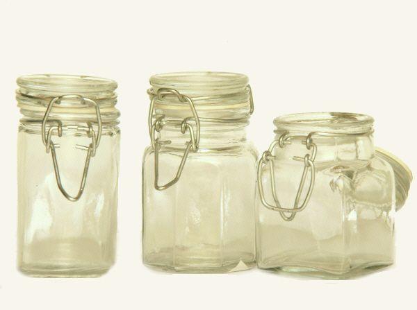 mini vorratsglas achteckig kaufen und bestellen in schmiedels online shop. Black Bedroom Furniture Sets. Home Design Ideas